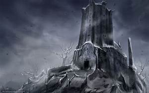 Download wallpaper Art, tower, castle, fortress free ...