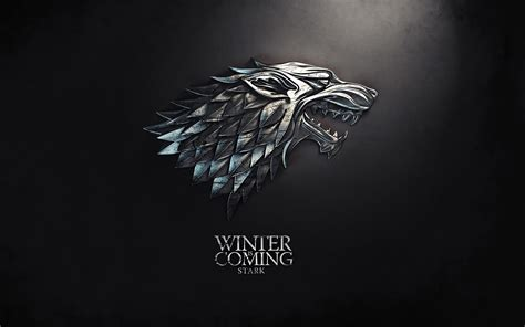 landscape advertising winter is coming game of thrones tv series wallpaper