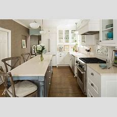 Long Narrow Kitchen Island With Seating  Kitchen
