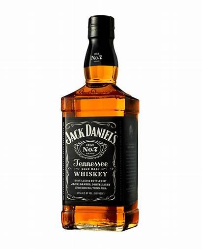 Whiskey Bottle Jack Daniels Transparent Bourbon Clipart