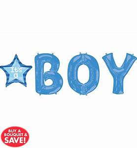 blue stroller baby shower party supplies party city With small letter balloons party city