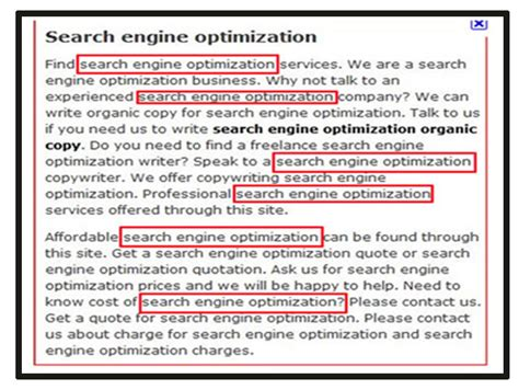 search engine optimization help 17 reasons can penalize your website