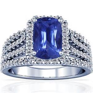 blue sapphire engagement rings white gold white gold cushion cut blue sapphire engagement ring engagement rings review