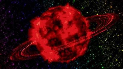 Planet Explosion Animated Animasi Gambar Bergerak Kumpulan