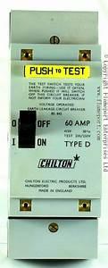 Obsolete Chilton Earth Leakage Circuit Breaker