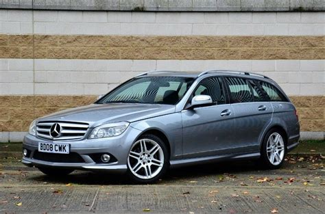 Baby, how you have grown. 2008 Mercedes C-Class C220 CDI AMG Sport Auto Estate , Full History, Diesel | in Ipswich ...