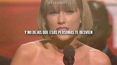 Taylor Swift - Speech GRAMMY's 2016 // subtitulado en ...