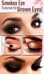 Smokey Eye Makeup : How To Do Smokey Eye Makeup For Brown ...