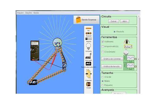 baixar de software de simular de circuitos elétricos