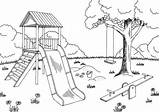 Playground Graphic Sketch Vector Landscape Clipart Drawing Equipment Illustrations Illustration Clip Coloring Drawings Vectors Shutterstock Paintingvalley sketch template