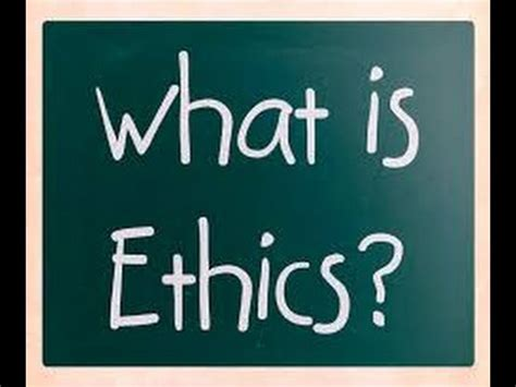 What Is Ethics? Defination In 119 Sec Youtube