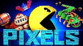 Le Cubert by Les Personnages Du Film Pixels Youtube
