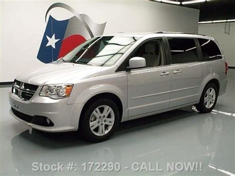 2012 Dodge Grand Caravan Crew by Purchase Used 2012 Dodge Grand Caravan Crew Stow N Go Rear