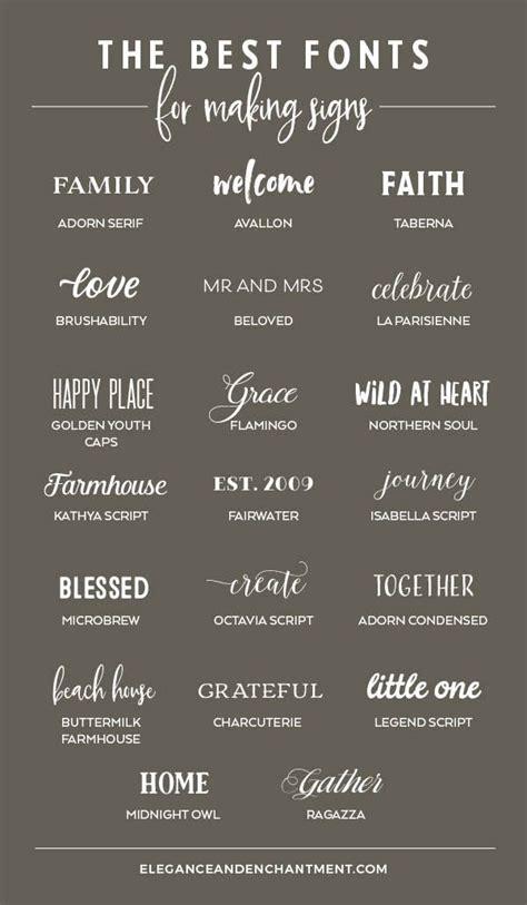 fonts  making signs elegance enchantment cricut fonts cool fonts