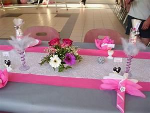 Deco Table Rose Et Gris : decoration mariage fushia et gris ~ Melissatoandfro.com Idées de Décoration
