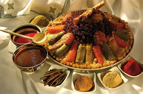 la cuisine h el royal monceau traditional moroccan couscous food moroccan