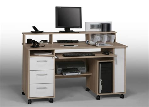 bureau pour ordinateur conforama bureau meuble informatique but table de lit