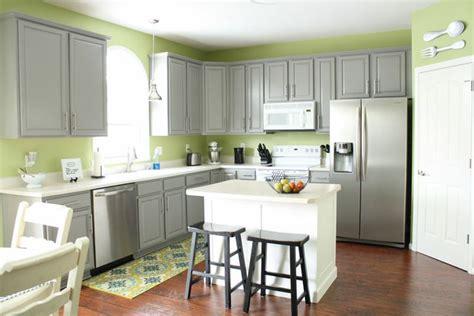green and gray kitchen grey cabinets green walls kitchen grey 3957