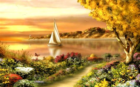 Summer Scenes Wallpapers 2560x1600 Wallpapers13com