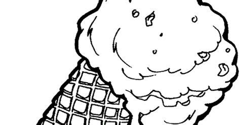 gambar mewarnai es krim untuk anak paud dan tk