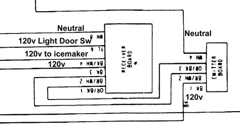 Wire Schematic For Kenmore Upright Freezer by Kenmore Side By Side No