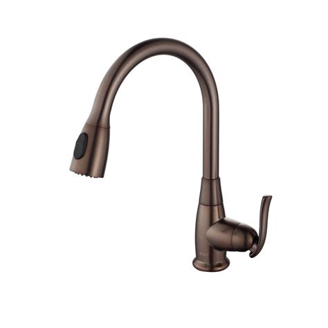 kraus kitchen faucet rubbed bronze faucet kgd 433b kpf 2230orb in black onyx