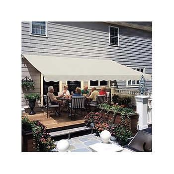 12 manual retractable awning