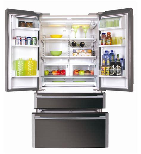 frigo americain 2 portes 2 tiroirs nouveau r 233 frig 233 rateur am 233 ricain haier grand par la taille petit par la consommation bien