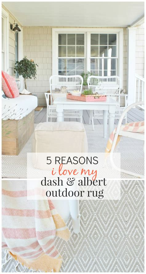 Dash Albert by 5 Reasons I My Dash Albert Outdoor Rug