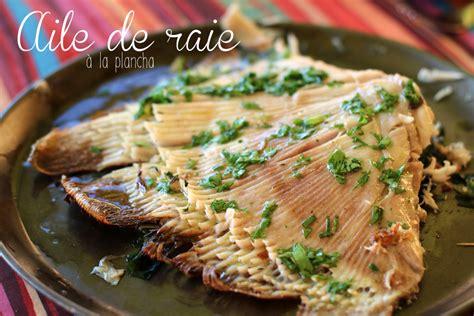 cuisiner aile de raie aile de raie au citron cookismo recettes saines