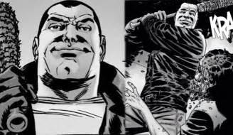 Walking Dead Comic Negan
