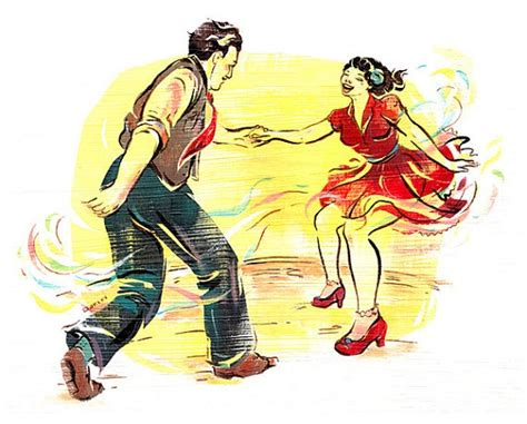 swing out lindy hop swing out lindy hop watercolor paper
