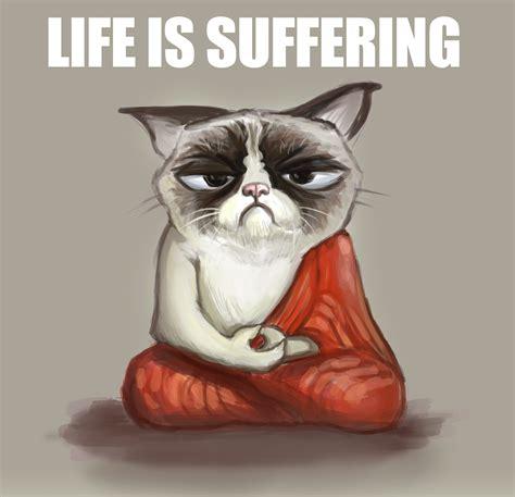 Buddha Memes - grumpy buddha grumpy cat know your meme