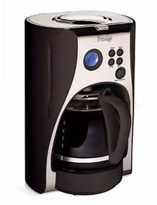 Kaffeemaschinen Test 2012 : prestige deco digital kaffee maschine schwarz 1 5 liter ~ Michelbontemps.com Haus und Dekorationen