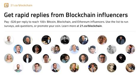 Get Paid In Bitcoin by Using Earn To Survey Blockchain Personalities On The