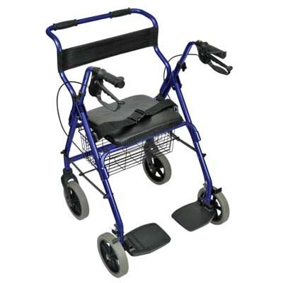 rollator transport chair rollators