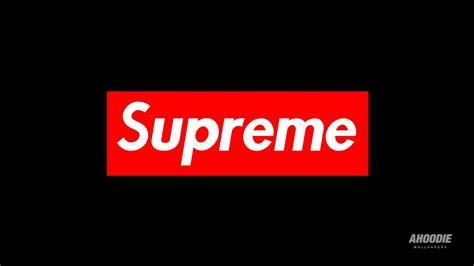 supreme brand supreme brand logo hd wallpapers desktop and mobile
