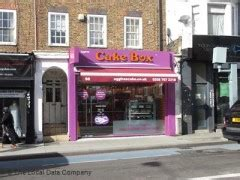 cake box  upper tooting road london cake makers