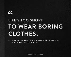 These Are the Best Fashion Quotes of All Time | Who What Wear