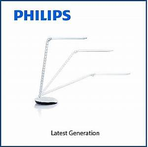 qoo10 philips 72007 lever led silver furniture deco With philips lever led table lamp 72007