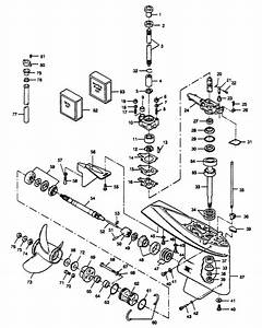 Marine Parts Plus Force Serial 125 H P  1989 Fob4399 1303