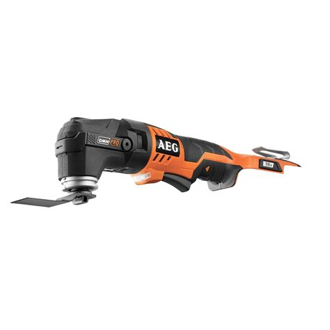 These pro skin tools are provided so you can enjoy skin from without top up! AEG 18V Omni Pro Multi Tool - Skin Only   Bunnings Warehouse