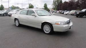 2005 Lincoln Town Car  Pearl White - Stock  730967