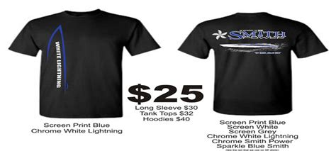Miami Boat Show Shirts by White Lighting Smith Power T Shirts Powerboat Nation