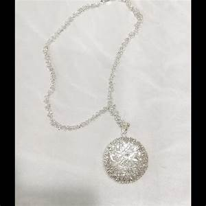 Qvc Jewelry Sterling Silver Italian Silver Disk Necklace