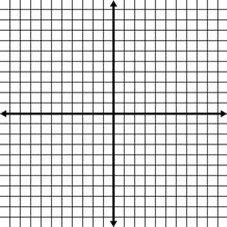 x y axis graph paper blank coordinate grid with grid lines shown clipart etc