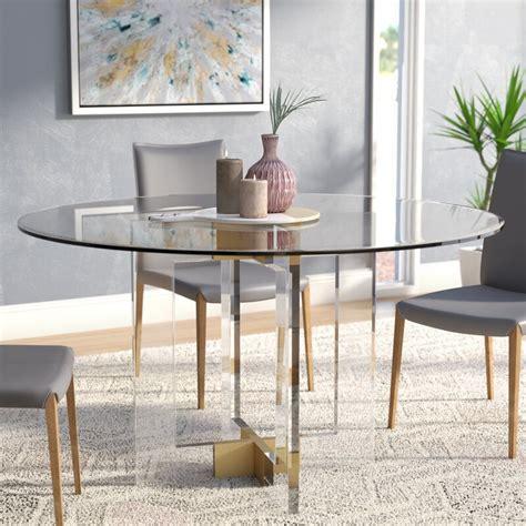 willa arlo interiors gosta  glass dining table