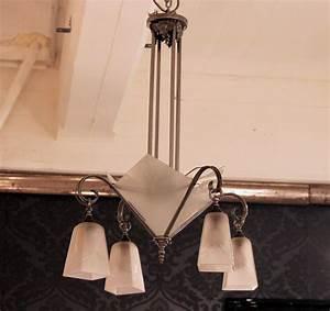 Art Deco Deckenleuchte : 02396 art deco deckenleuchte aus frankreich wandel antik ~ Sanjose-hotels-ca.com Haus und Dekorationen