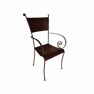 Fauteuil Fer Forgé : fauteuil escargot en fer forg fer 14 ~ Melissatoandfro.com Idées de Décoration