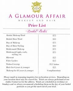 A Glamour Affair Atlanta On Location Hair And Makeup Pricing
